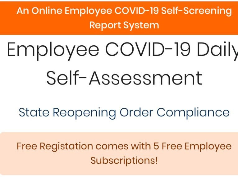 COVID-19 Self-assessment Report System